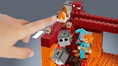 LEGO Minecraft 21154 Die Brücke Wither-Skelett Nether-Kulisse  N8/19 9