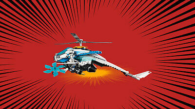 LEGO® NINJAGO 70673 ShuriCopter Ninja-Actionfiguren Tornado-Spinners 5