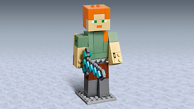 LEGO® Minecraft™ 21149 BigFig Alex mit Huhn Actionfigur N2/19 4