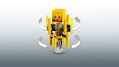 LEGO Minecraft 21154 Die Brücke Wither-Skelett Nether-Kulisse  N8/19 7
