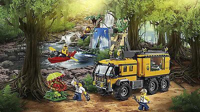 LEGO City Jungle Explorers Mobiles Dschungel-Labor 60160 N7/17 4