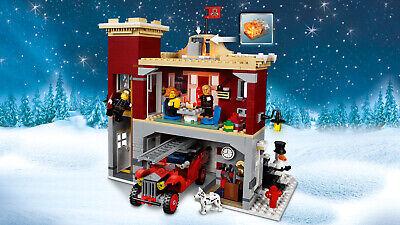 LEGO Creator Expert 10263 Winterliche Feuerwache Winter Village Fire Station NEU 5