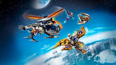 LEGO Super Heroes 76144 Avengers Hulk Helikopter Rettung Black Widow 3