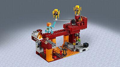 LEGO Minecraft 21154 Die Brücke Wither-Skelett Nether-Kulisse  N8/19 5