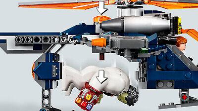 LEGO Super Heroes 76144 Avengers Hulk Helikopter Rettung Black Widow 7