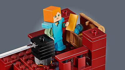 LEGO Minecraft 21154 Die Brücke Wither-Skelett Nether-Kulisse  N8/19 8