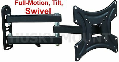 Full Motion TV Wall Mount Articulating 24 32 37 39 40 Inch LED LCD Flat Screen 2
