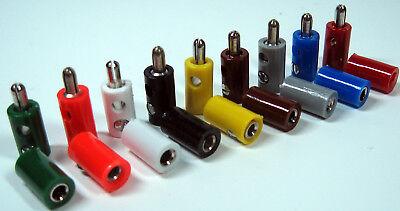 für Märklin H0 Modellbahn oder N TT etc. 10 Stecker GELB z.B