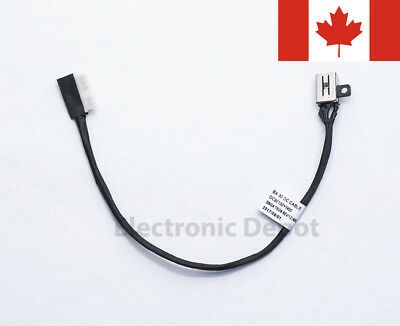 New Dell Inspiron 15 5565 5566 5567 17 5765 5767 DC Jack w/ Cable R6RKM 0R6RKM 2