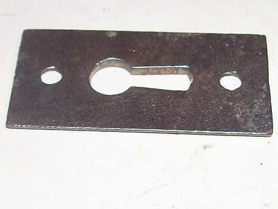 Antique Victorian Door Knob Key Plate Bronzed Cast Iron Fancy Eastlake Hardware 7