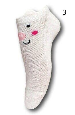 Toddler Girls Kids Children Summer Short Cotton Soft Fun Cute Trainer Socks1Pair 4