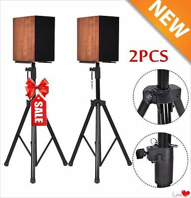 Tripod Speaker Stands Pair 110lb Load Pro Audio Stage Monitor Mount Pa DJ 2 Two 6