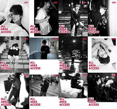 THE BOYZ REVEAL 1st Album CD+POSTER+Photo Book+Post Card+Film+Card+Fortune+GIFT 4