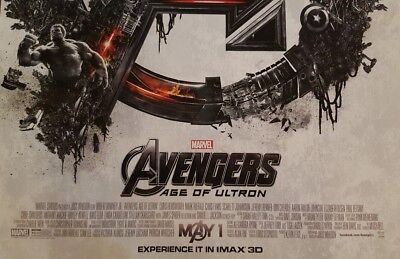 MARVEL STUDIOS AVENGERS: INFINITY WAR  and AGE OF ULTRON IMAX Promo 4 Poster lot 11