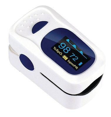 Saturimetro da dito ossimetro misuratore ossigeno pulsossimetro battito cardiaco