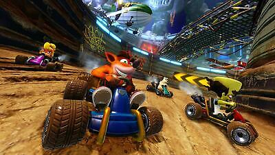 CTR Crash Team Racing Nitro Fueled inkl Bonus-DLC (PS4) (NEU OVP) (Blitzversand) 4