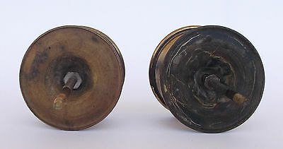 Vintage Pair Of Brass Handle/knobs 7