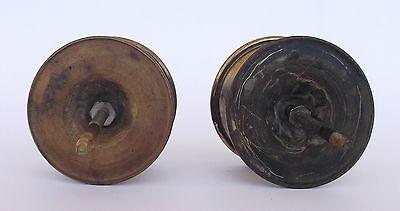 Vintage Pair Of Brass Handle/knobs 7