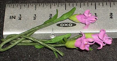 001-0005 MINIATURE DOLLHOUSE 1:12 SCALE FLOWER KIT IRIS PURPLE