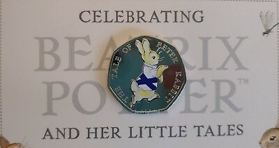 Peter Rabbit 50p Coin 4 Nations England Ireland Scotland Wales Beatrix Potter 5