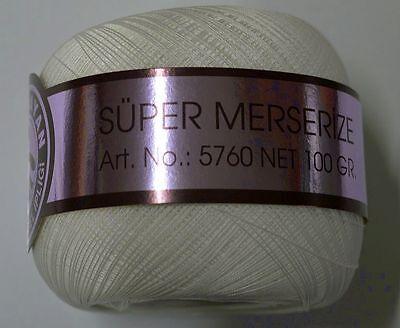 Ören Bayan No 40 Super Mercerize Weiß 100g Türkei sehr beliebt Abgebot Türkei