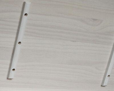 KMH® Spielzeugkiste Spielzeugbox Holzkiste weiß Deckel Truhe Spielkiste Holz
