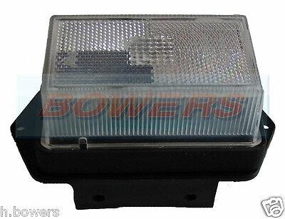 Rubbolite M122 Clear White Front Marker Light Lamp Lens Ivor Williams Trailer 2
