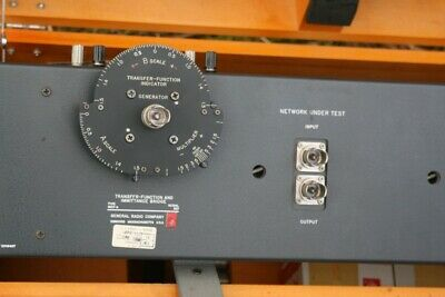 General Radio Genrad TYPE 1607-A TRANSFER-FUNCTION IMMITANCE Bridge 1607A 5