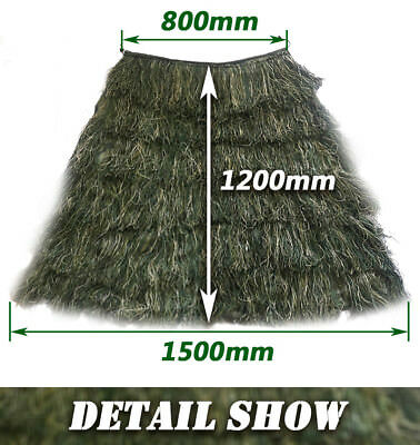 3D Leaf Adults Ghillie Suit Woodland Camo//Camouflage Hunting Deer Stalking  Y5Z5