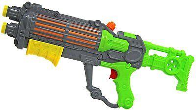 Green Water Machine Gun Style Pump Action Water Pistol Stormtrooper Shooter 940 2