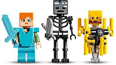 LEGO Minecraft 21154 Die Brücke Wither-Skelett Nether-Kulisse  N8/19 3
