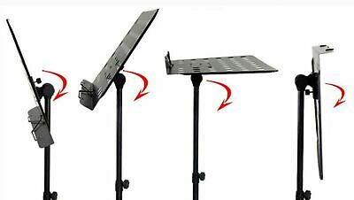 Heavy Duty Metal Foldable Music Stand Holder Tripod Orchestral Conductor Sheet 8