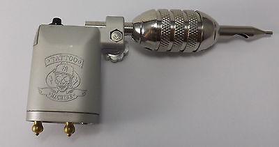 TATTOO LUXUS KOMPLETTSET Tattoomaschine Hammer ROTARY IG-7g INKgrafiX® SET PROFI 8