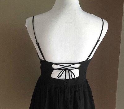 Bulk Lot x 7 NEW Dresses Black Chiffon Lace Up Back Sizes 6 - 12 Styla Label 6