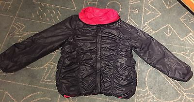 DKNY girl's reversible jacket  / vest size 12 years 2