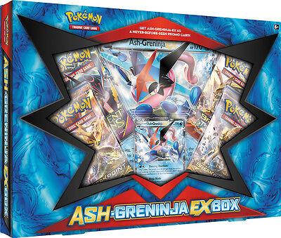 ASH-GRENINJA EX BOOSTER Box + Pikachu Legendary Collection ...
