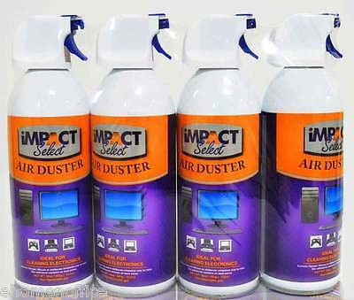 Air Duster Compressed Canned Air Keyboard Computer TV Dust Off 10oz 4-8-12-16 pk 7