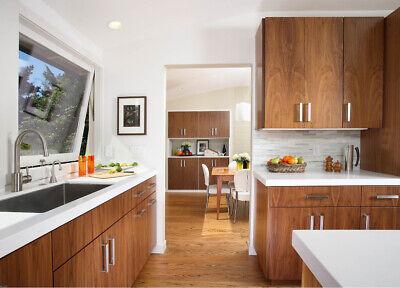 Stainless Steel Kitchen Cabinet Handles Square Door Knobs Cupboard Drawer Pulls 5