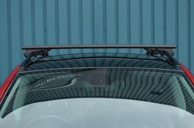 VW TOUAREG onwards 2010 ANTI THEFT ALUMINIUM CROSS BAR RACK 75 KG CAPACITY