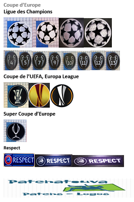 EUROPE PATCH BADGE Champion's League 13 maillot de foot Real