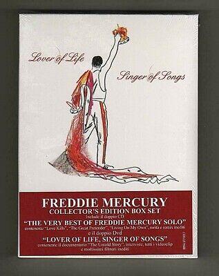 Freddie Mercury – Lover Of Life, Singer Of Songs- 2CD+2DVD 094637710227 -SEALED 2