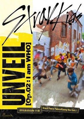 STRAY KIDS [I AM WHO] 2nd Mini Album RANDOM CD+PhotoBook+3p Card+Poster(On)+GIFT 2