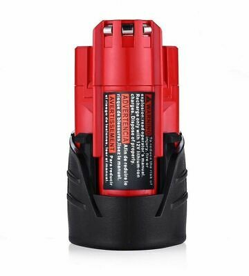 2X Replace For Milwaukee 48-11-2420 M12 Lithium-ion Compact Battery Pack 2.5Ah 5