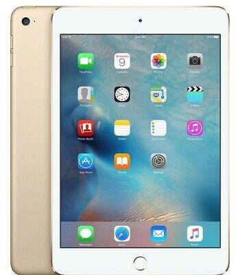 Apple iPad Mini 4 Wi-Fi + Cellular - 16GB 32GB 64GB 128GB Space Gray-Silver-Gold 4