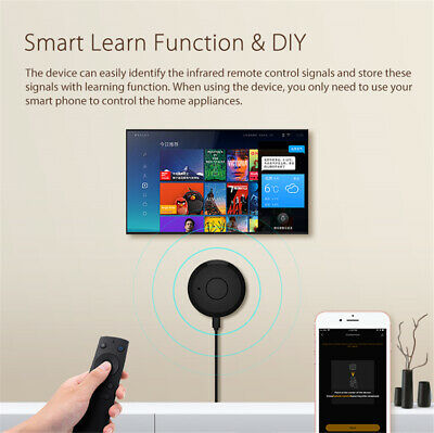 Smart WIFI To Infrared Remote Control IR Controller For TV Air Conditioner 9