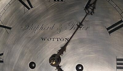 "Antique   Mahogany  ""  Wotton ""  8 Day   Grandfather / Longcase Clock 4"