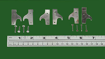 Rare Globe Wernicke Usa® Hook  Bookcase Door Hinge Assembly! Great For Any Door! 3