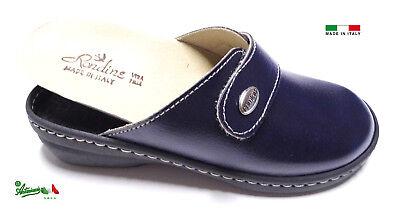 Pantofole ciabatte donna chiuse MADEinITALY PLANTARE ESTRAIBILE 310 italiane 7
