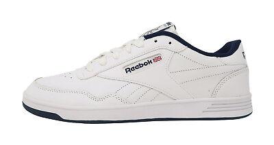 REEBOK Club Memt Memory Tech Classic White Navy Blue Athletic Sneakers Men Shoes 2