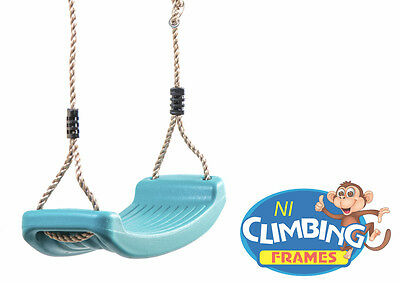 Children's Replacement outdoor Swing Seat Height Adjustable Rope Climbing Frame 5